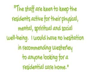 Quote from an LWP Resident