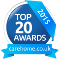 Carehome Top 20 award winner