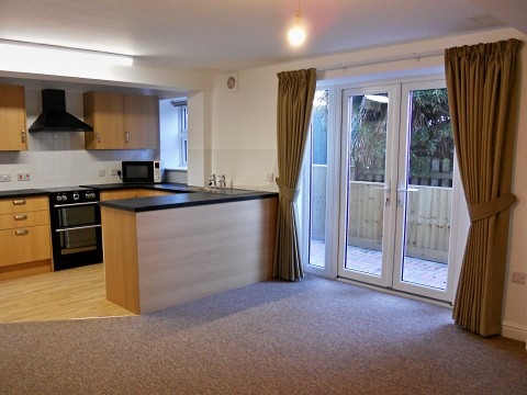 LWP Homes - interior view of flats at the Minehead care home